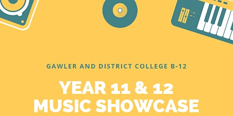Year 11/12 Music Showcase tickets