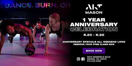 AKT Mason 1 YEAR Anniversary Celebration! tickets