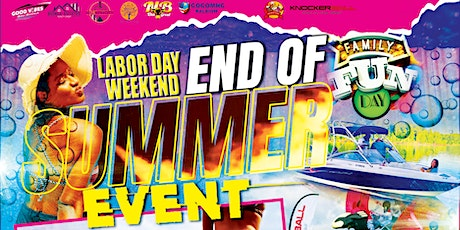 End of Summer Event tickets