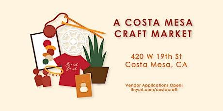 A Costa Mesa Craft Market tickets