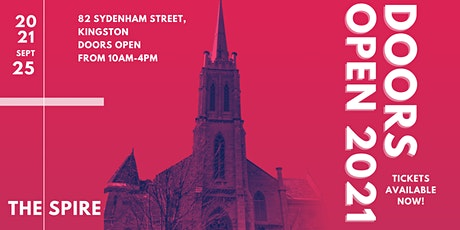 Doors Open Kingston 2021 - The Spire tickets