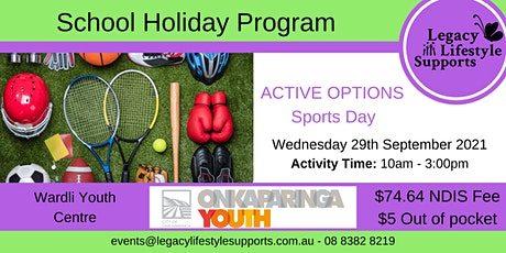 ACTIVE OPTIONS - Sports Day tickets