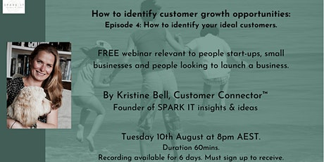 Customer Growth Opportunities: 4) How to identify your ideal customers tickets