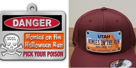 Homies on the  Halloween 10K Trail Run Challenge. tickets