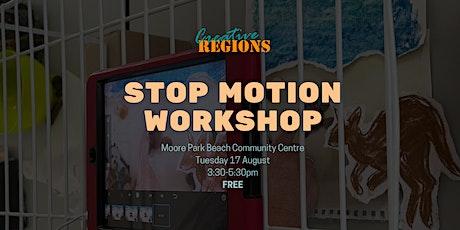Stop Motion Animation Workshop - Upper Primary School tickets