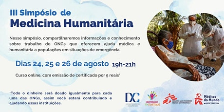 III Simpósio de Medicina Humanitária ingressos