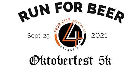OKTOBERFEST Beer Run - Four City Brewing | 2021 NJ Brewery Running Series tickets