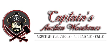 Collective Pinballs & Arcade Games Up for Bid @ Captain's Auction Warehouse tickets