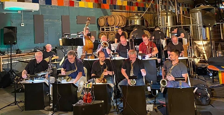 The Blue Wisp Big Band at Bircus Brewing Co. October 14, 2021 image