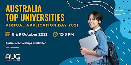 Australia Top Universities - Virtual Application Day 2021 tickets