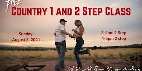 Free Country 1step and 2step boletos