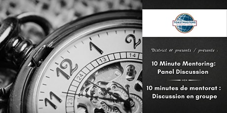 10 Minute Mentoring: Panel / 10 minutes de mentorat : Panel tickets