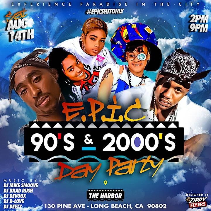 E.P.I.C 90S VS 2000S DAY PARTY image