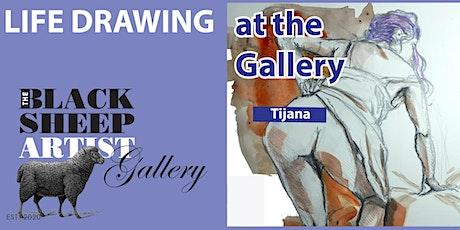 Sunday Morning Casual Life Drawing with Tijana tickets