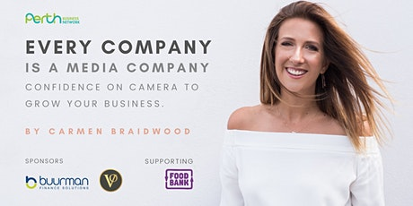 Carmen Braidwood: Confidence on Camera to Grow Your Business. tickets