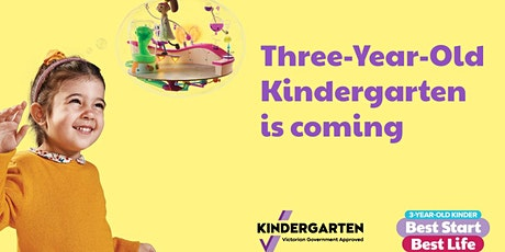 North East Melbourne Area Three-Year-Old Kindergarten Drop-In Sessions tickets