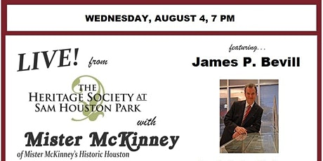Facebook Live from The Heritage Society with Mister McKinney & James Bevill tickets