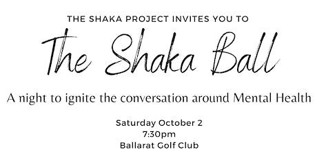 The Shaka Project Black Tie Ball tickets