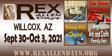 2021 Carnival at Rex Allen Days Fall Pre-Sale tickets