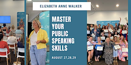Public Speaking - 3 Day Training For Managers/Entrepreneurs tickets