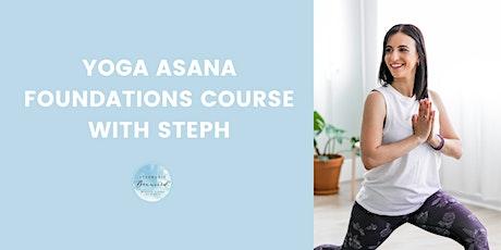 Yoga Asana Foundations Course tickets