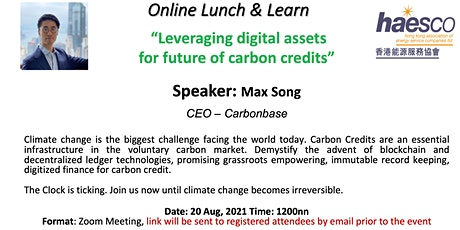 Leveraging digital assets  for future of carbon credits tickets