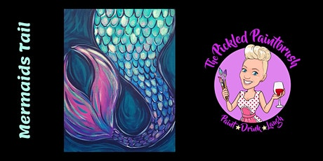 Painting Class - Mermaids Tail - August 14th, 2021 tickets