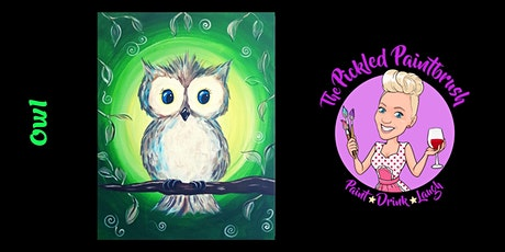 Painting Class - Owl - August 8, 2021 tickets