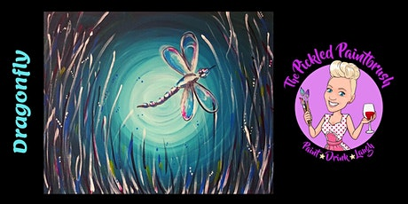 Painting Class - Dragonfly - August 19, 2021 tickets