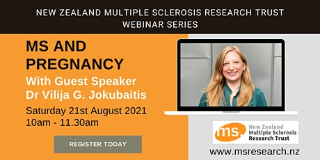 Multiple Sclerosis  New Zealand Research Trust Webinar - MS and Pregnancy tickets