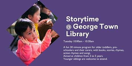 Storytime @ George Town Library tickets