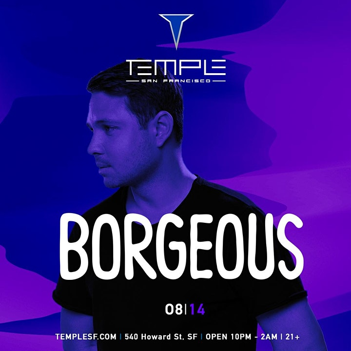Borgeous at Temple SF image