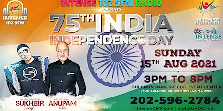 75th India Independence Day Celebrations with Anupam Kher & Sukhbir tickets