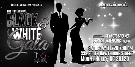 1st Annual Black and White Gala tickets