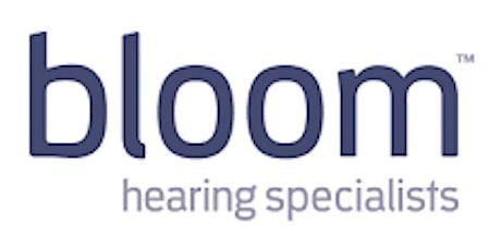 bloom hearing specialist - grad program 2022 information session tickets
