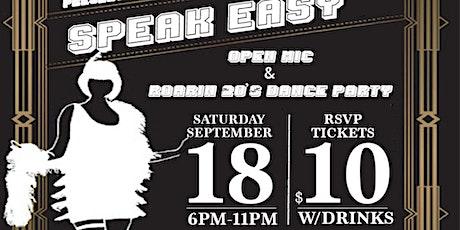 Open Mic Night & Roaring 20's Dance Party tickets