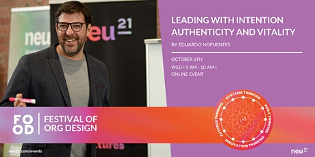 LEADING WITH INTENTION, AUTHENTICITY AND VITALITY tickets