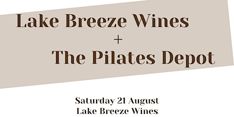 Yoga + brunch at Lake Breeze Wines tickets