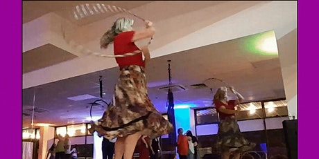Easy Hoop Dance moves 7.30 pm to 8.30 pm Mondays. tickets