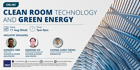 Clean Room Technology and Green Energy tickets