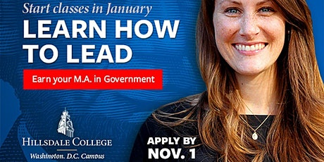 Hillsdale College DC Graduate School - Virtual Admissions Info Session tickets