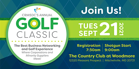 2021 Annual Golf Classic - A Day of Business Golf tickets
