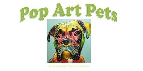 Pop Art Pet Portraits Make-and-Take tickets