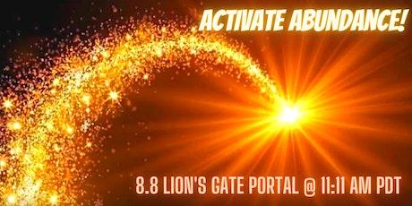 Activate Abundance tickets