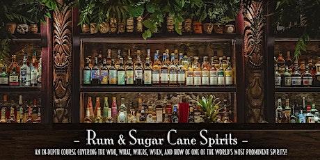 The Roosevelt Room's Master Class Series - Rum & Sugar Cane Spirits tickets