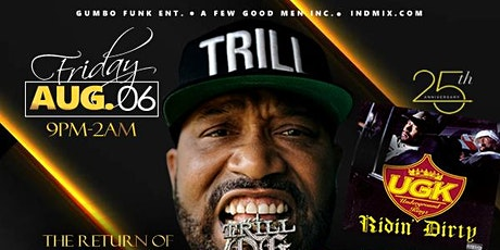BUN B Live  at PARMA Friday August 6th 2021 tickets