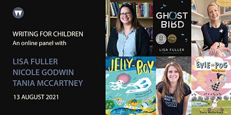 Children's Panel with Lisa Fuller, Nicole Godwin, and Tania McCartney tickets