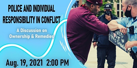 Police and Individual Responsibility in Conflict tickets