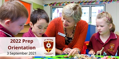 2022 Prep Orientation - Students - St Peters Lutheran College Springfield tickets