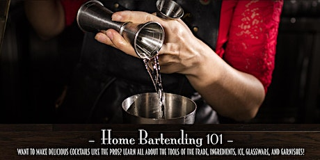 The Roosevelt Room's Master Class Series - Home Bartending 101 tickets